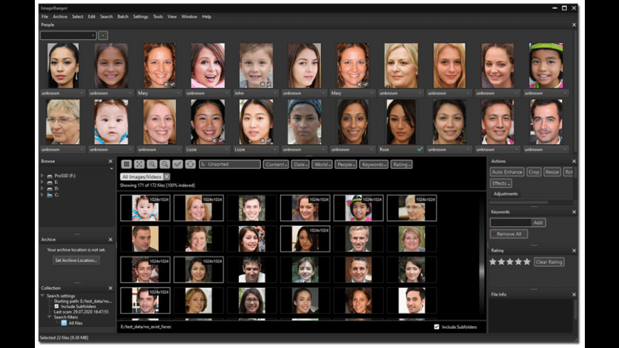 ImageRanger for Mac - review, screenshots