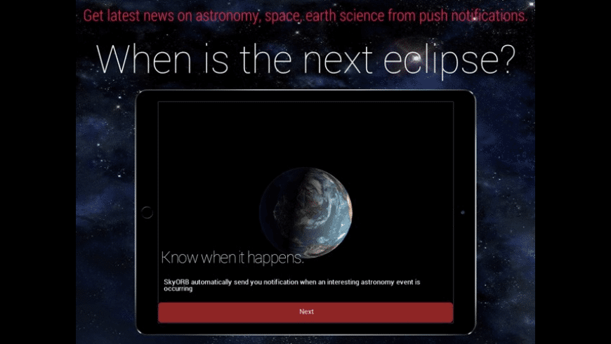 SkyORB 2020 Astronomy in AR for Mac - review, screenshots