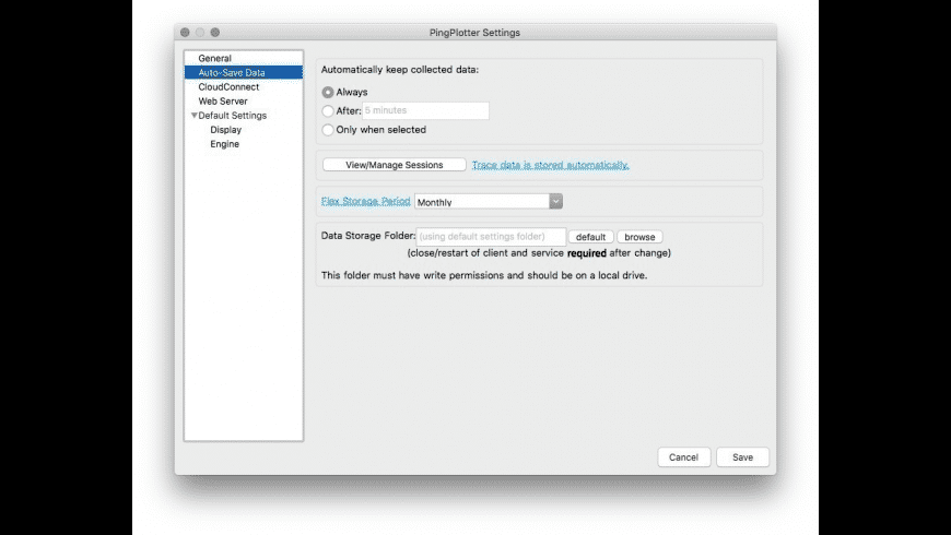 PingPlotter for Mac - review, screenshots
