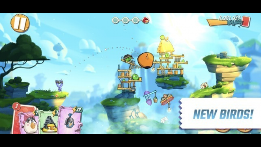Angry Birds 2 for Mac - review, screenshots