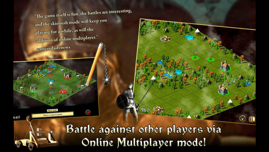 Medieval Battlefields for Mac - review, screenshots