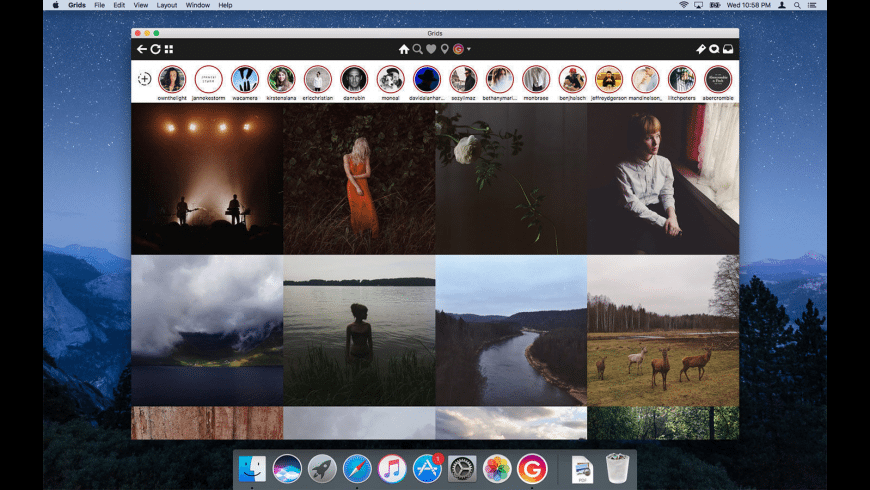 Grids for Instagram for Mac - review, screenshots
