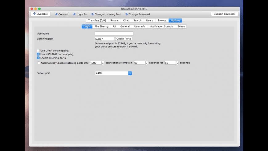 SoulseekQt for Mac - review, screenshots