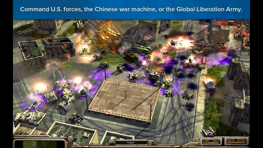 Command & Conquer Generals for Mac - review, screenshots