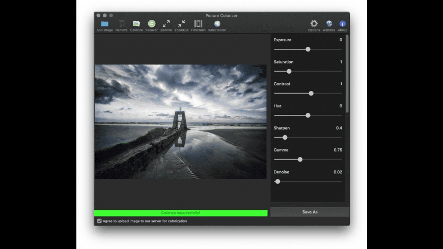 Picture Colorizer for Mac - review, screenshots