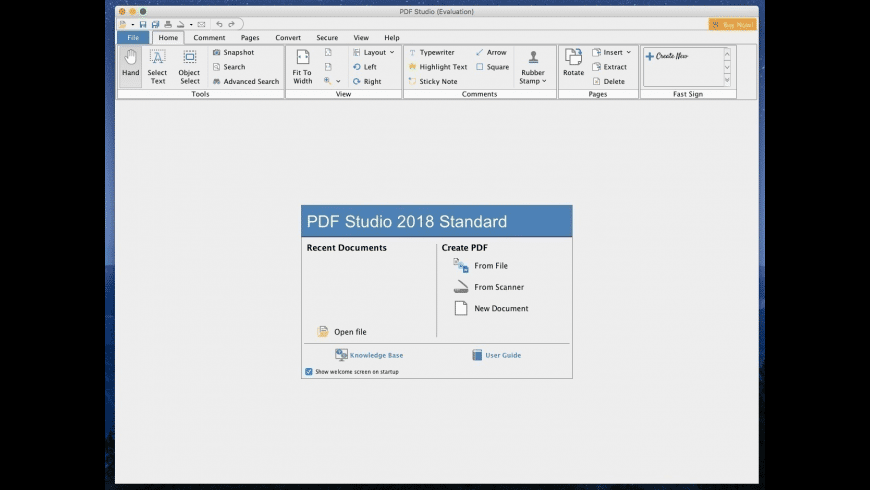 PDF Studio Standard for Mac - review, screenshots
