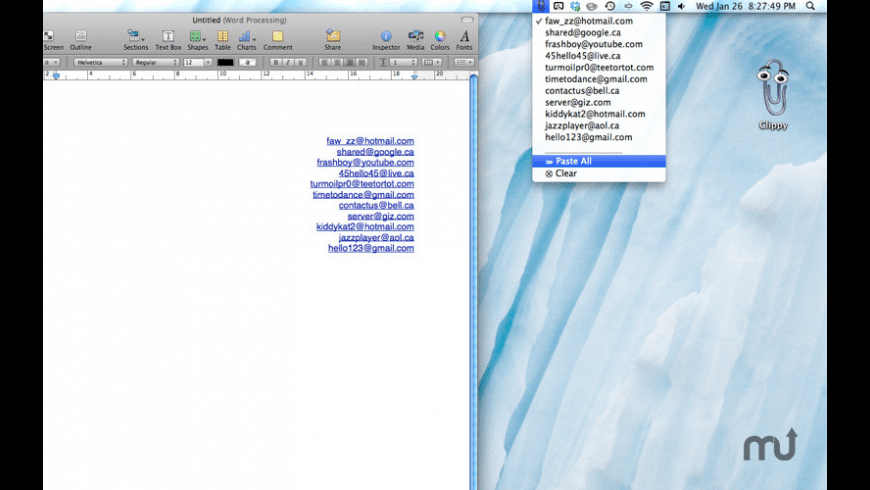 Clippy for Mac - review, screenshots