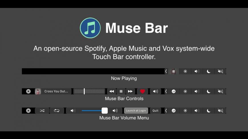 Muse Bar for Mac - review, screenshots