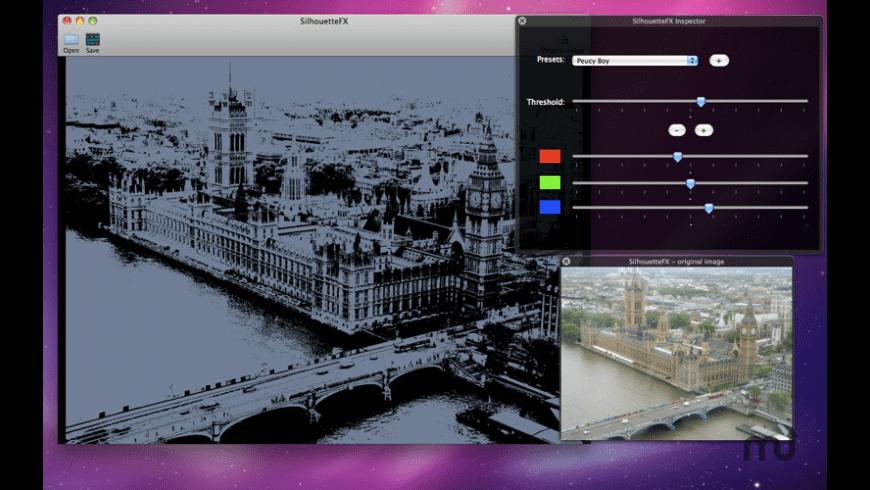 SilhouetteFX for Mac - review, screenshots