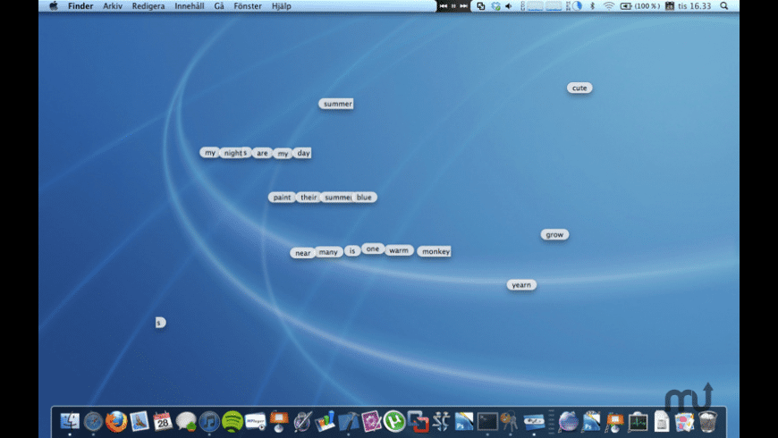 Desktop Poems for Mac - review, screenshots