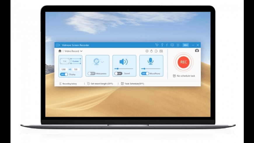Vidmore Screen Recorder for Mac - review, screenshots