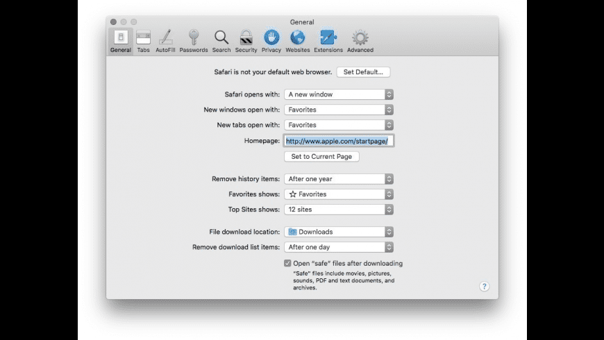 Apple Safari for Mac - review, screenshots