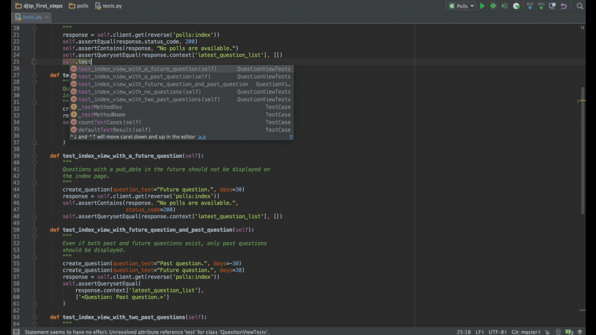 PyCharm Professional for Mac - review, screenshots