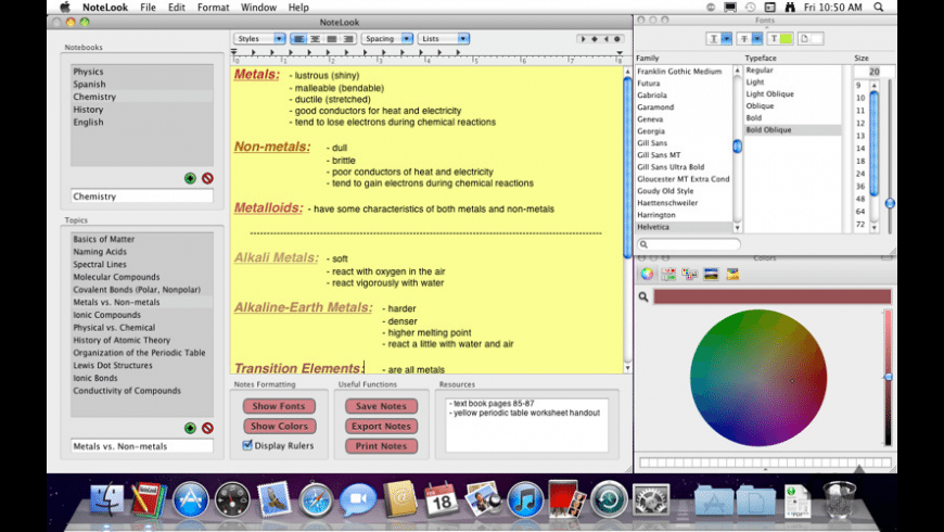 NoteLook for Mac - review, screenshots