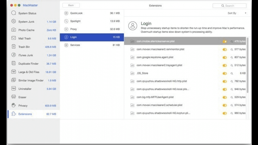 MacMaster for Mac - review, screenshots