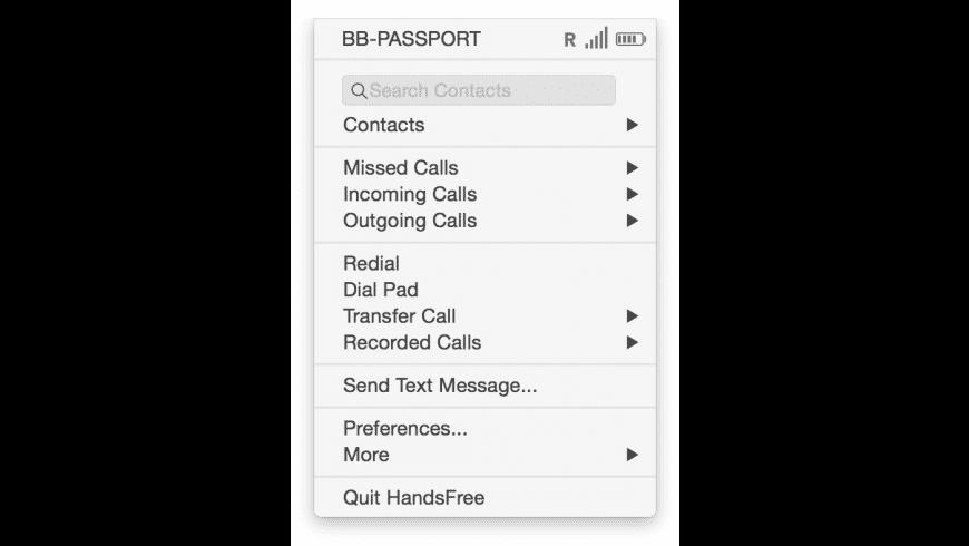 HandsFree for Mac - review, screenshots