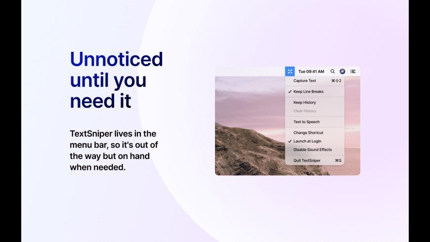TextSniper for Mac - review, screenshots