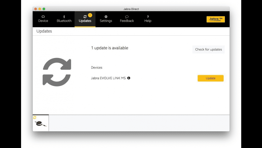 Jabra Direct for Mac - review, screenshots