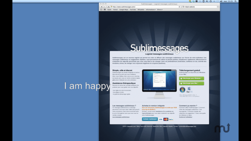 SubliMessages for Mac - review, screenshots