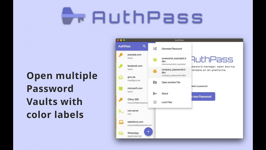AuthPass for Mac - review, screenshots
