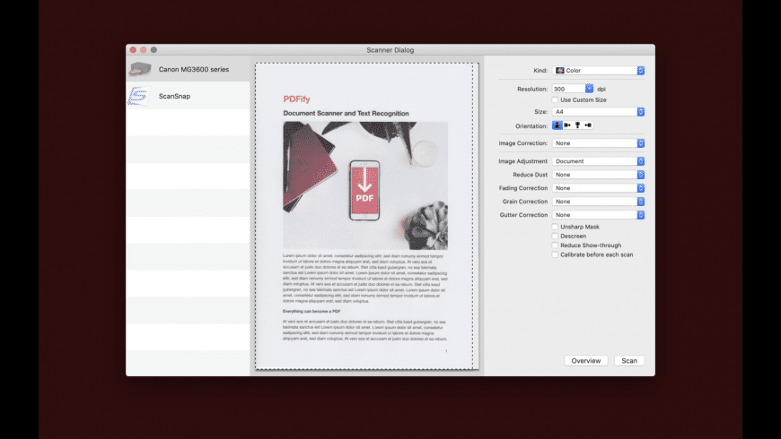 PDFify for Mac - review, screenshots