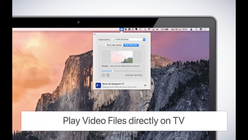 Mirror for Panasonic TV for Mac - review, screenshots