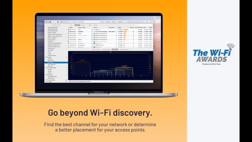 WiFi Explorer for Mac - review, screenshots