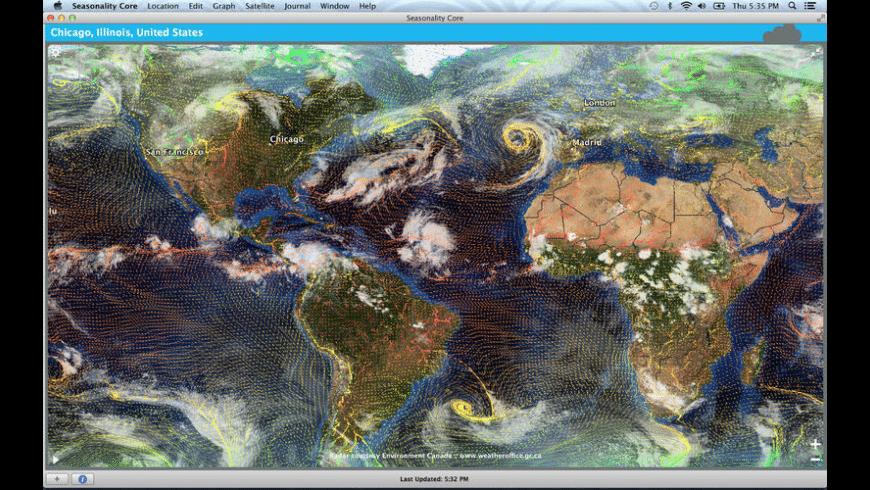 Seasonality Core for Mac - review, screenshots