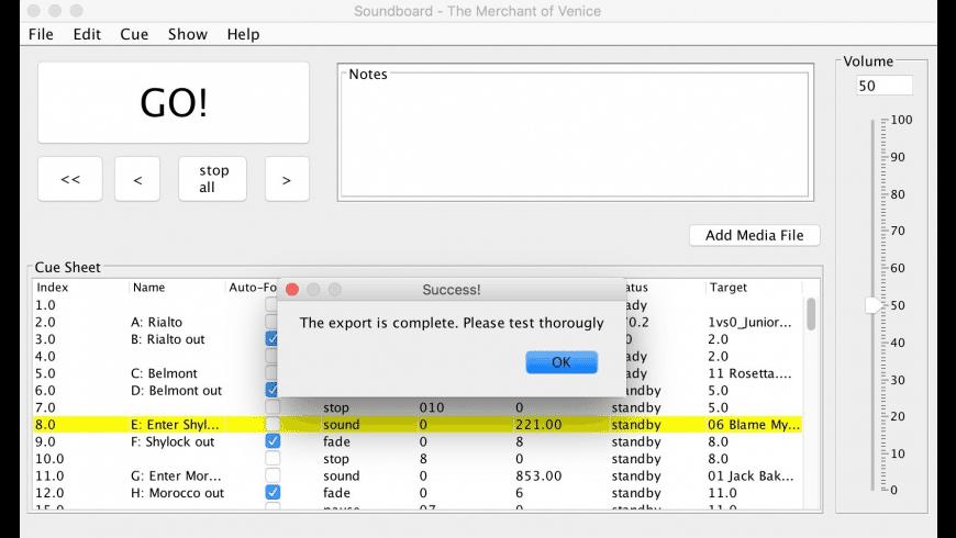 Soundboard for Mac - review, screenshots