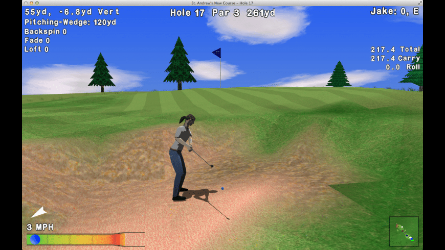 GL Golf for Mac - review, screenshots