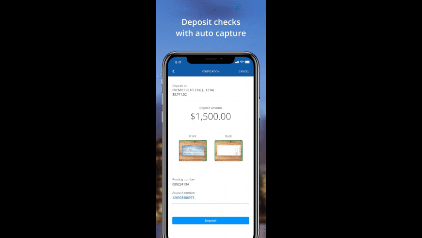 Chase Mobile for Mac - review, screenshots