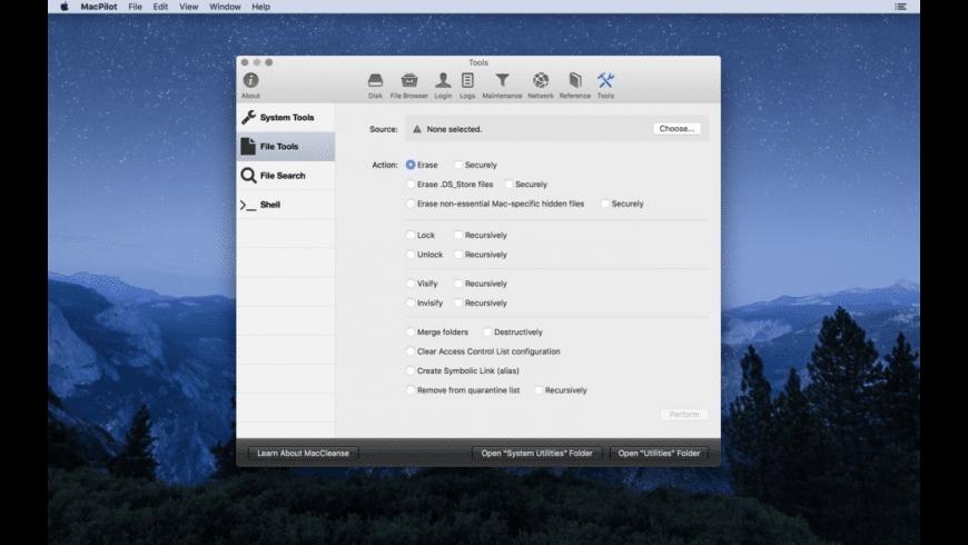 MacPilot for Mac - review, screenshots