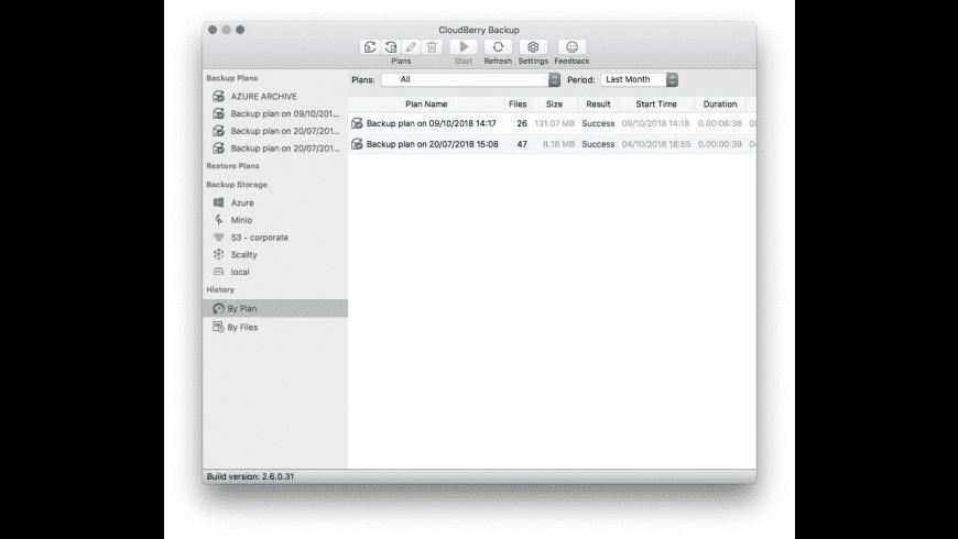 CloudBerry Backup for Mac - review, screenshots