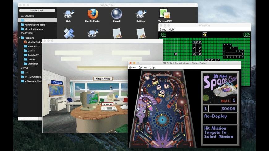 WinOnX 64 for Mac - review, screenshots