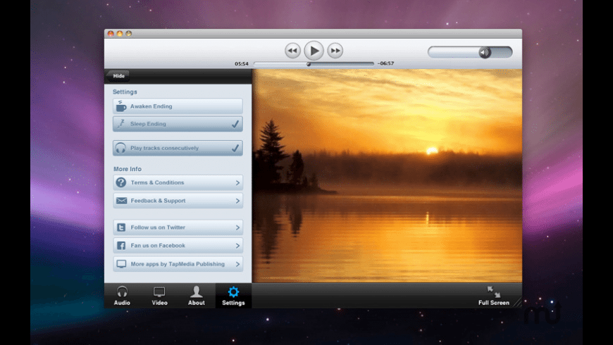 Relax Now for Mac - review, screenshots