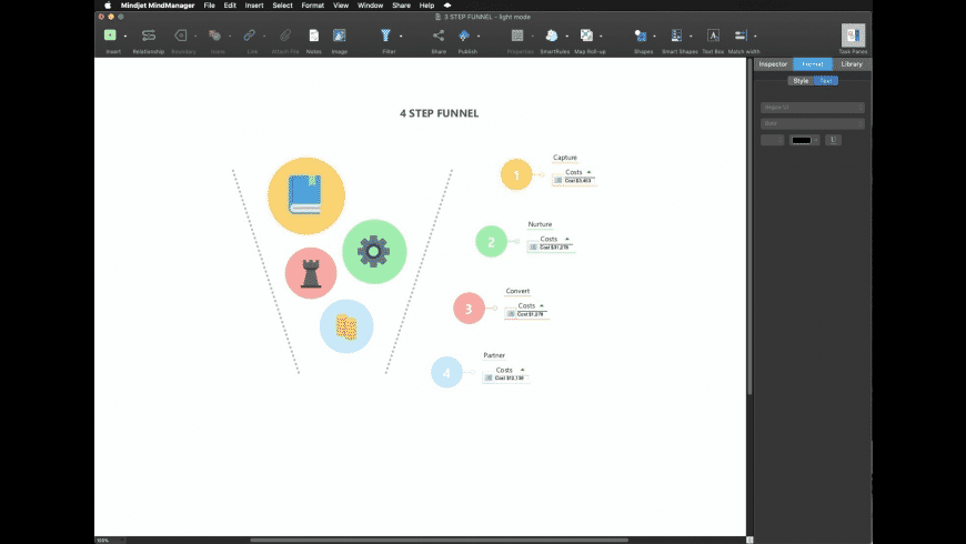Mindjet MindManager for Mac - review, screenshots