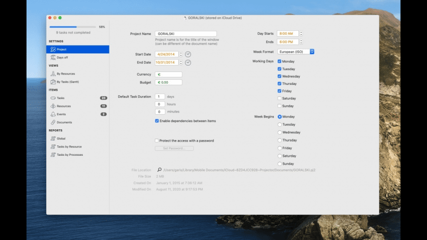 xPlan4 Desktop for Mac - review, screenshots