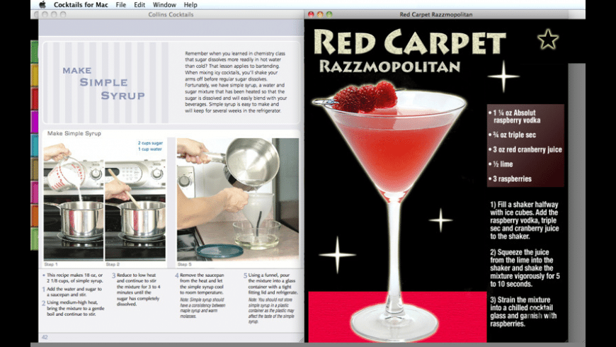 Cocktails for Mac - review, screenshots