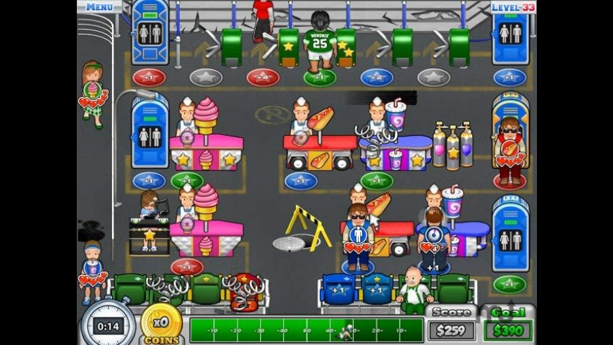 Busy Bea's Halftime Hustle for Mac - review, screenshots