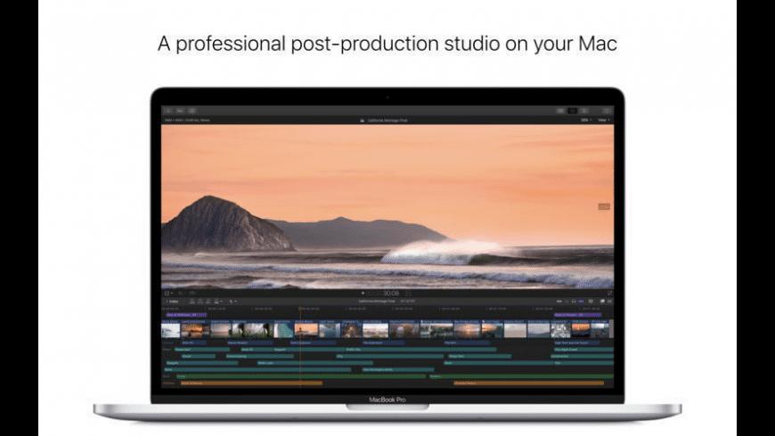 Final Cut Pro X for Mac - review, screenshots