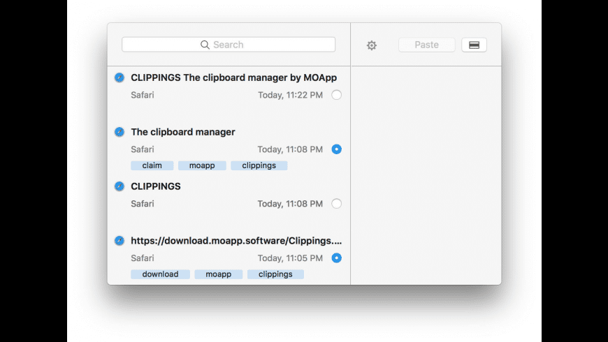 Clippings for Mac - review, screenshots