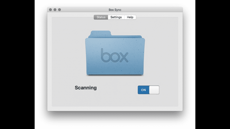 Box Sync for Mac - review, screenshots