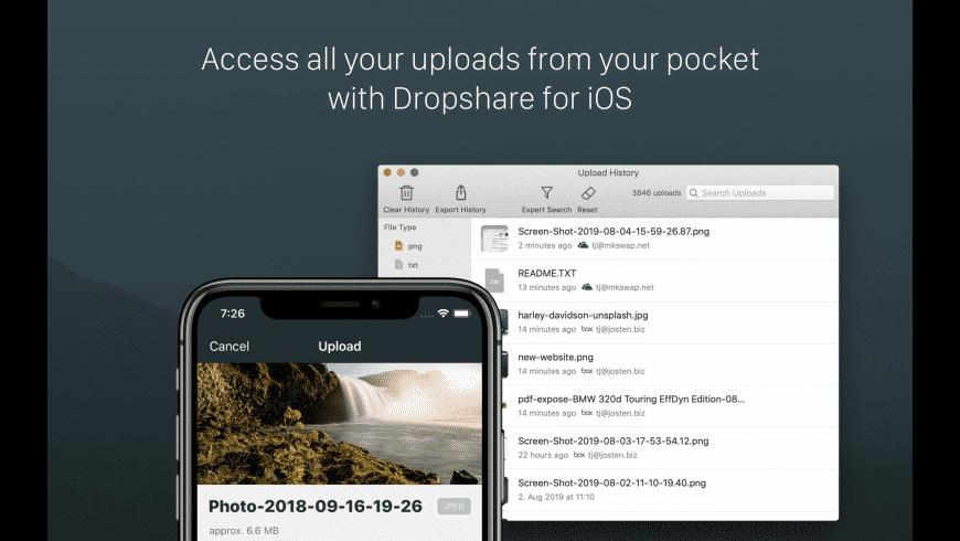 Dropshare for Mac - review, screenshots