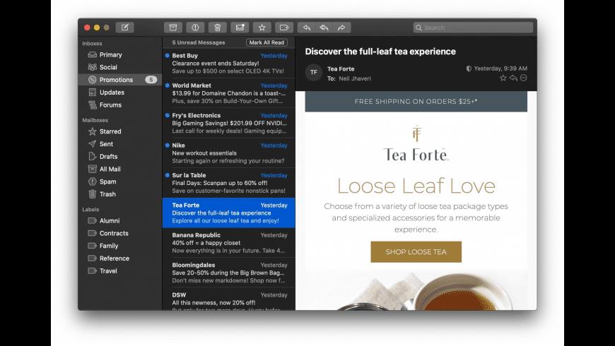 Mimestream for Mac - review, screenshots