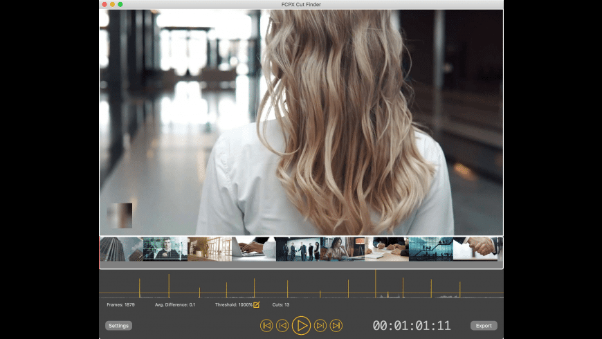 FCPX Cut Finder for Mac - review, screenshots