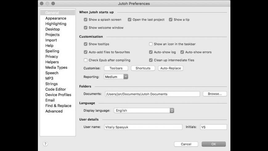 Jutoh for Mac - review, screenshots