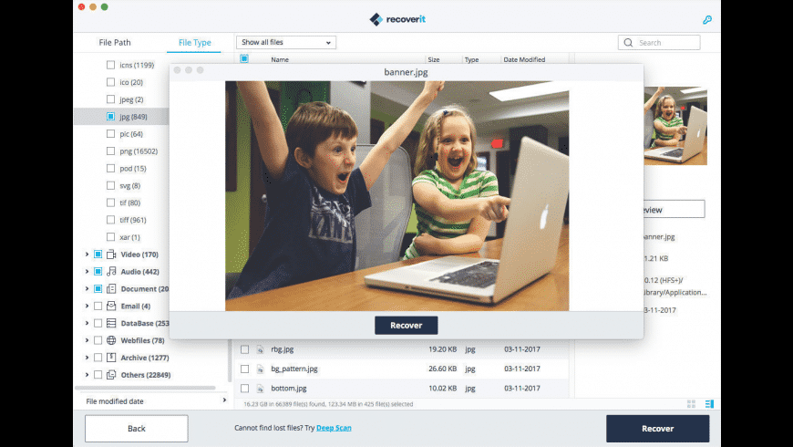 Wondershare Recoverit for Mac - review, screenshots
