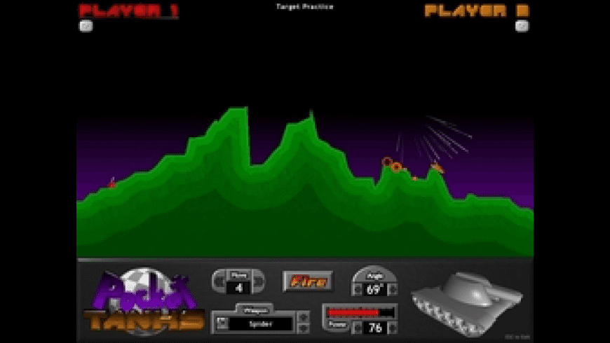 Pocket Tanks for Mac - review, screenshots