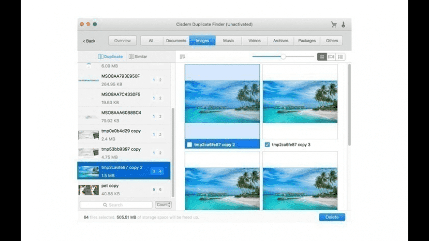 Cisdem Duplicate Finder for Mac - review, screenshots