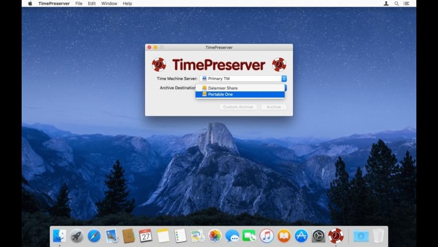 TimePreserver for Mac - review, screenshots